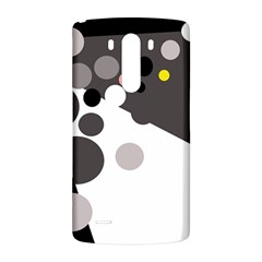 Gray, yellow and pink dots LG G3 Back Case