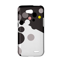 Gray, yellow and pink dots LG L90 D410