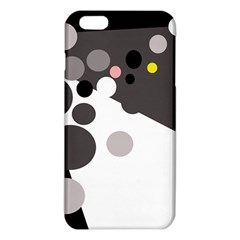 Gray, Yellow And Pink Dots Iphone 6 Plus/6s Plus Tpu Case