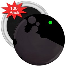 Colorful dots 3  Magnets (100 pack)