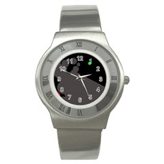 Colorful dots Stainless Steel Watch