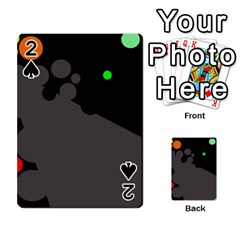 Colorful dots Playing Cards 54 Designs