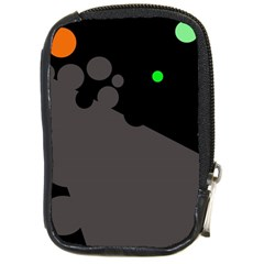 Colorful dots Compact Camera Cases