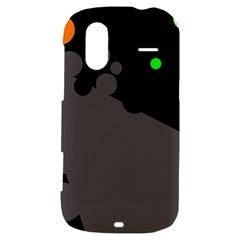 Colorful dots HTC Amaze 4G Hardshell Case
