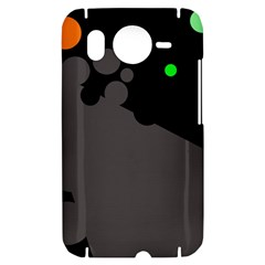 Colorful dots HTC Desire HD Hardshell Case