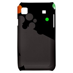 Colorful dots Samsung Galaxy S i9000 Hardshell Case