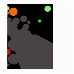 Colorful dots Large Garden Flag (Two Sides)