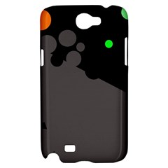 Colorful dots Samsung Galaxy Note 2 Hardshell Case