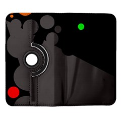 Colorful dots Samsung Galaxy Note II Flip 360 Case