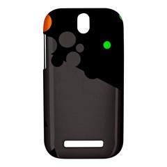 Colorful dots HTC One SV Hardshell Case