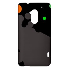 Colorful dots HTC One Max (T6) Hardshell Case