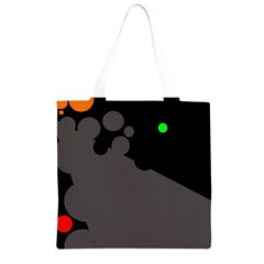Colorful dots Grocery Light Tote Bag