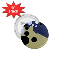 Elegant dots 1.75  Buttons (10 pack)