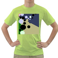 Elegant dots Green T-Shirt