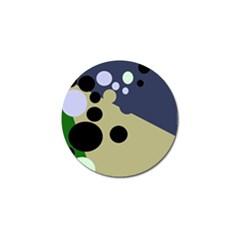 Elegant dots Golf Ball Marker (10 pack)