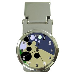 Elegant dots Money Clip Watches