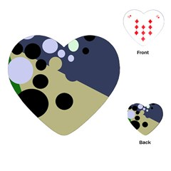Elegant dots Playing Cards (Heart)
