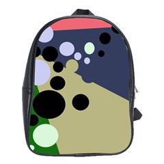 Elegant dots School Bags(Large)