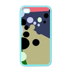 Elegant dots Apple iPhone 4 Case (Color)