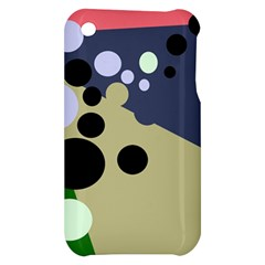 Elegant dots Apple iPhone 3G/3GS Hardshell Case
