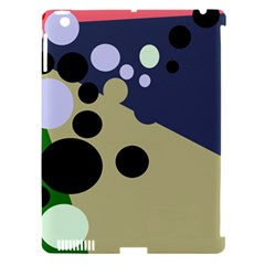 Elegant dots Apple iPad 3/4 Hardshell Case (Compatible with Smart Cover)