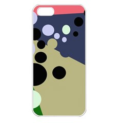Elegant dots Apple iPhone 5 Seamless Case (White)