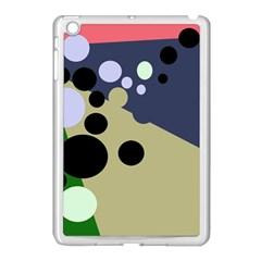 Elegant dots Apple iPad Mini Case (White)