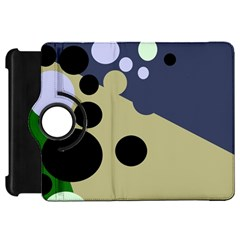 Elegant dots Kindle Fire HD Flip 360 Case