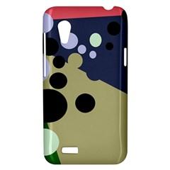 Elegant dots HTC Desire VT (T328T) Hardshell Case