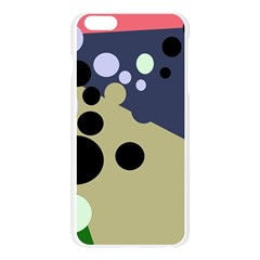 Elegant dots Apple Seamless iPhone 6 Plus/6S Plus Case (Transparent)
