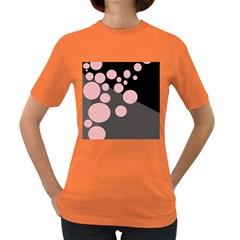 Pink dots Women s Dark T-Shirt