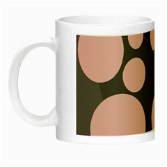 Pink dots Night Luminous Mugs