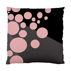 Pink dots Standard Cushion Case (One Side)