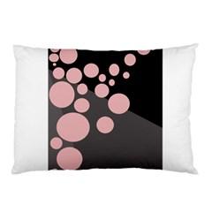 Pink dots Pillow Case