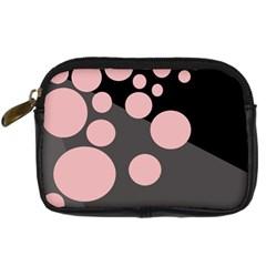 Pink dots Digital Camera Cases