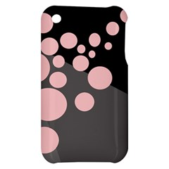Pink dots Apple iPhone 3G/3GS Hardshell Case