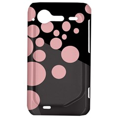Pink dots HTC Incredible S Hardshell Case
