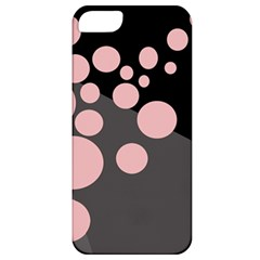 Pink dots Apple iPhone 5 Classic Hardshell Case