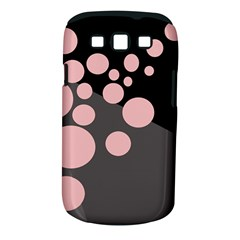 Pink dots Samsung Galaxy S III Classic Hardshell Case (PC+Silicone)