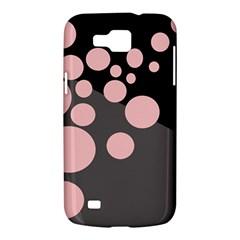 Pink dots Samsung Galaxy Premier I9260 Hardshell Case