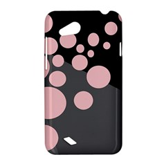 Pink dots HTC Desire VC (T328D) Hardshell Case