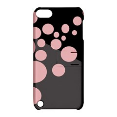 Pink dots Apple iPod Touch 5 Hardshell Case with Stand