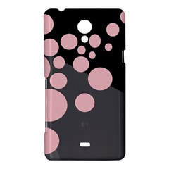 Pink dots Sony Xperia T