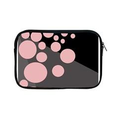 Pink dots Apple iPad Mini Zipper Cases