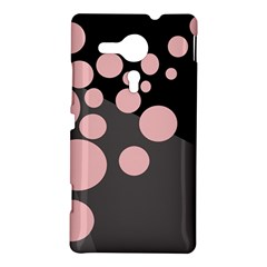 Pink dots Sony Xperia SP