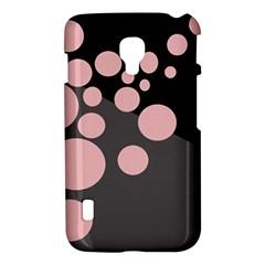 Pink dots LG Optimus L7 II