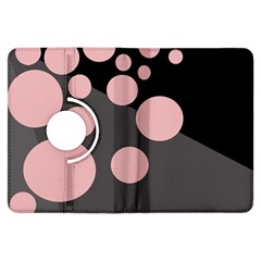 Pink dots Kindle Fire HDX Flip 360 Case