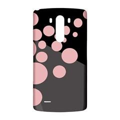 Pink dots LG G3 Back Case