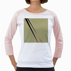Elegant lines Girly Raglans