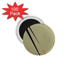 Elegant lines 1.75  Magnets (100 pack)